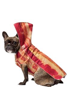 Disfraz de bacon para perro